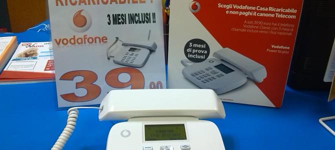 Vodafone Casa RICARICABILE!!  La Rivoluzione del FISSO!