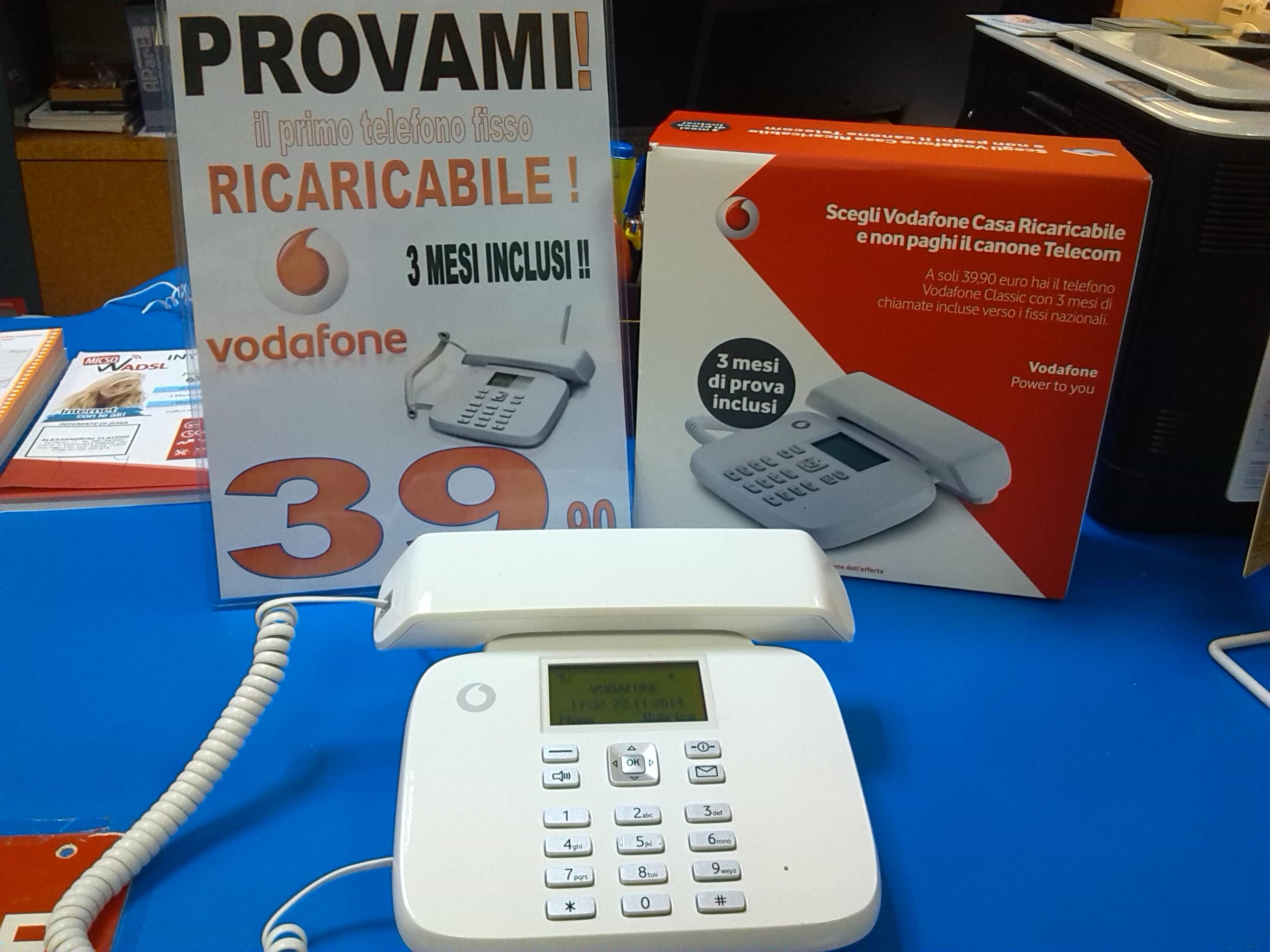 Vodafone casa ricaricabile la rivoluzione del fisso alessandrini service - Internet en casa de vodafone ...