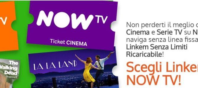 Linkem regala NOWTV per 12 mesi…entro il 31 Maggio!
